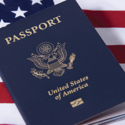 Click on the image above to learn about applying for a passport if you do not have one.